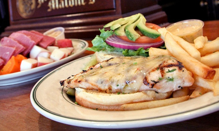Molly Malone's - River Forest: Irish and American Fare for Two or Four at Molly Malone's in Forest Park (Up to 55% Off)