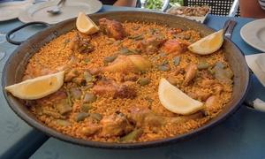El Paradero: 1,2 kg di paella valenciana più sangria al centro di Caserta, presso il ristorante El Paradero (sconto fino a 64%)