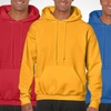 Poly-Cotton Blend Hooded Sweatshirts