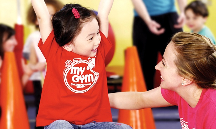 My Gym Children's Fitness Center - Overland Pointe Market Place: 5, 10, or 15 Days of Summer Camp at My Gym Children's Fitness Center (Up to 52% Off)