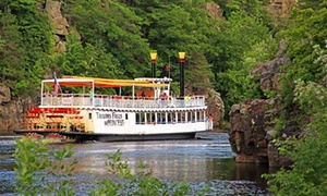 Scenic Boat Tours at Taylors Falls: 80-Minute Scenic Boat Tour for Two, Four, or Six from Taylors Falls Scenic Boat Tours (48% Off)