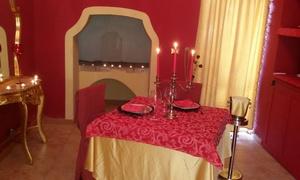 RISTORANTE PIZZERIA LI MANCHI: Menu Gourmet con sala esclusiva, dolce e calice o bottiglia di vino da Pizzeria Ristorante Li Manchi (sconto fino a 80%)
