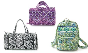 Stylish Cotton Quilted Handbags, Organizers, And Wallets From $9.99–$24.99