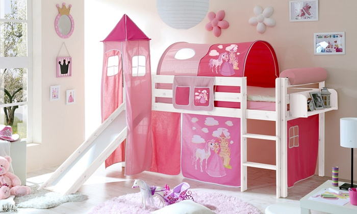 lit sur lev pour enfant avec accessoires groupon shopping. Black Bedroom Furniture Sets. Home Design Ideas