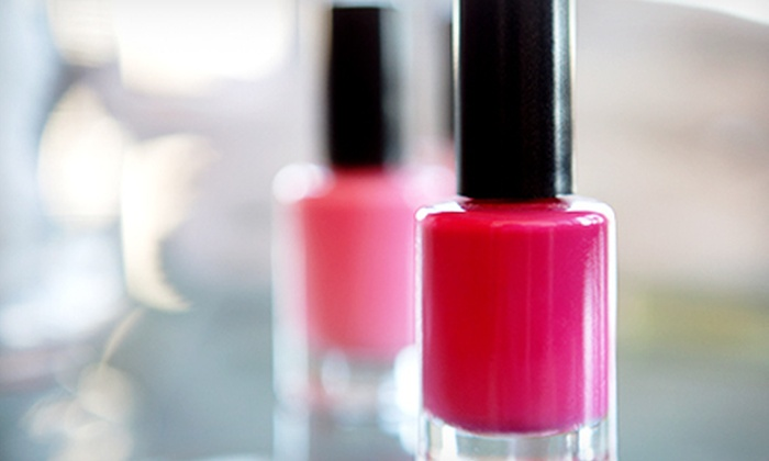 Haus of Lacquer - Wilmington-Newark: Haus Mani-Pedi, or Gel Manicure and Haus Pedicure at Haus of Lacquer (Up to 60% Off)