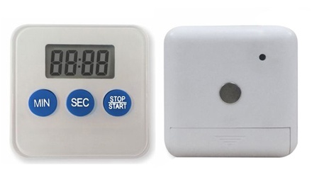 Timer digitale da cucina con display lcd e calamita a 6 99 - Timer da cucina ...
