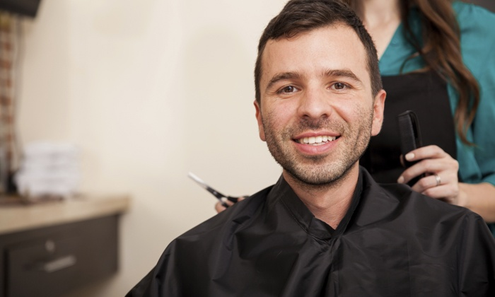 The Spot Specializing in Men's Cuts - The Spot Specializing in Men's Cuts: A Men's Haircut with Shampoo and Style from The Spot Specializing in Men's Cuts (60% Off)
