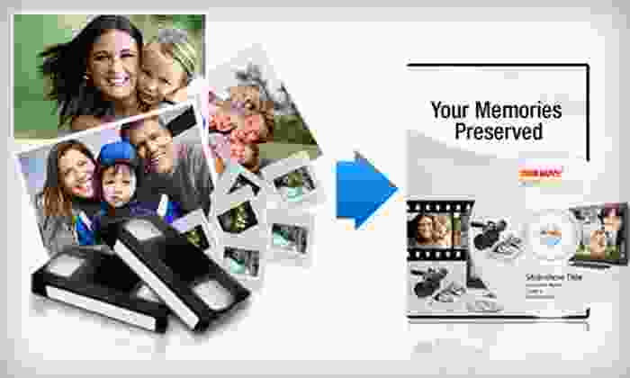 ScanDigital: Photo- and Video-Digitization Services from ScanDigital (Up to US$300 Value). Two Options Available.
