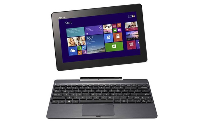 "ASUS T100TA Transformer Book 10.1"" Touchscreen 2-in-1 Laptop and Tablet with Windows 8.1 and 32GB SSD (Manufacturer Refurbished): ASUS T100TA Transformer Book 10.1"" Touchscreen 2-in-1 Laptop/Tablet 32GB SSD (Manufacturer Refurbished). Free Returns."