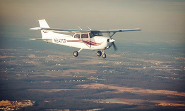 Harford Air Services - 2, Halls Cross Roads: One 30-Minute Flying Lesson or Two 60-Minute Flying Lessons at Harford Air Services (Up to 51% Off)