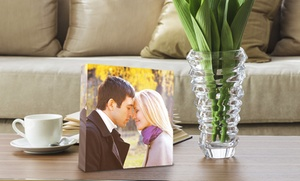 Picture It On Canvas: Custom Acrylic Photo Blocks from Picture It On Canvas (Up to 77% Off). Five Options Available.