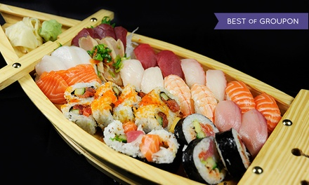 $18 for $30 Worth of Sushi, Japanese Food, and Drinks at Wasabi Sushi Bar