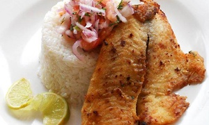 Claudio's Cafe: Globally Inspired Dining or Catering from Claudio's Cafe (Up to 56% Off)