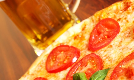 Pizza with Pints of Beer for Two with Optional Wings at The Green Parrot Bar & Grill (Up to 53% Off)