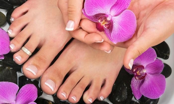 El Globo Beauty Salon - East Little Havana: One Manicure with Purchase of One Pedicure at El Globo Beauty Salon
