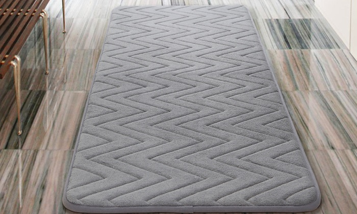 Oversized 24 X60 Memory Foam Bath Rugs Groupon