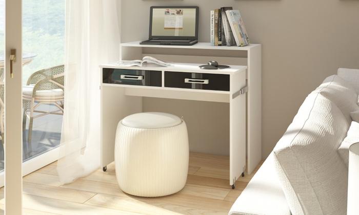 Bureau extensible groupon shopping - Bureau console extensible 2 en 1 ...