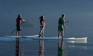 East Coast Outfitters: Standup-Paddleboard Rental for One or Two from East Coast Outfitters (Up to 53% Off)