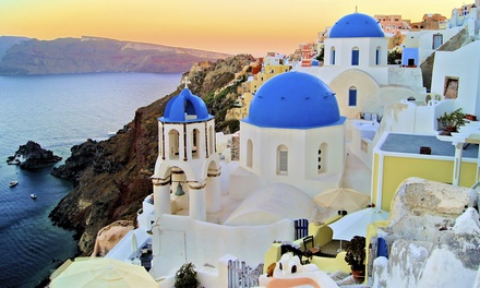 ✈ 10-Day Greek Islands Vacation with Airfare. Price per Person Based on Double Occupancy (Buy 1 Groupon/Person).