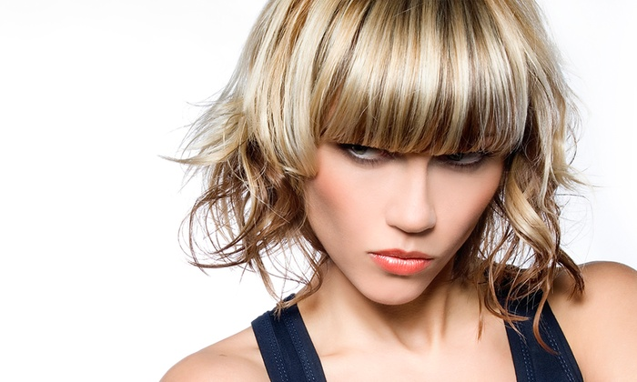Strandz Hair Salon - Stroud: Half Head Highlights or Full Head Colour With Cut and Blow-Dry for £27 at Strandz