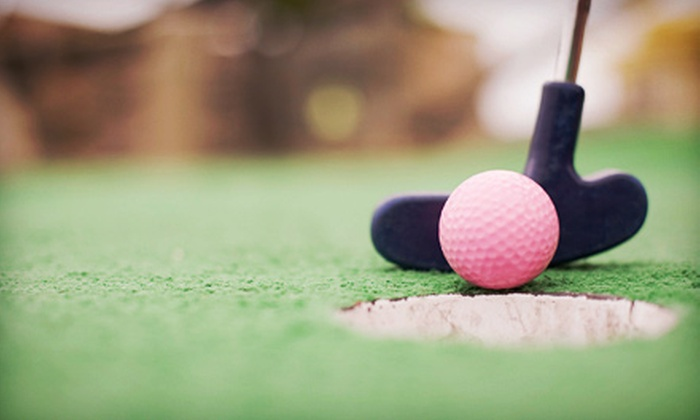 Station Sports - Huntington Station: Miniature Golf for Two or Four at Station Sports (Up to Half Off)