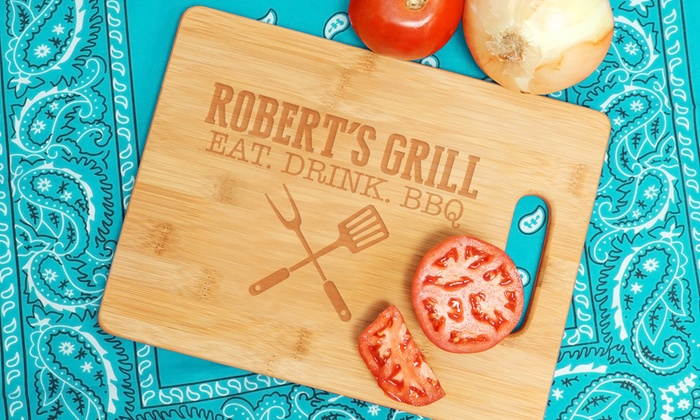Monogram Online: $24.99 for a Personalized Cutting Board from Monogram Online ($59.99 Value)