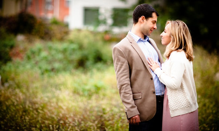 Maria A. Garth Photography - Philadelphia: $199 for Engagement Photo Shoot with Digital Images from Maria A. Garth Photography ($450 Value)