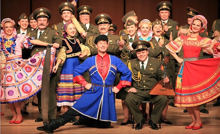Red Star: Red Army Chorus and Dance Ensemble on Tue., Apr. 3 at 8PM: Balcony Seating - Red Star: Red Army Chorus and Dance Ensemble presented by Music Worcester in Worcester