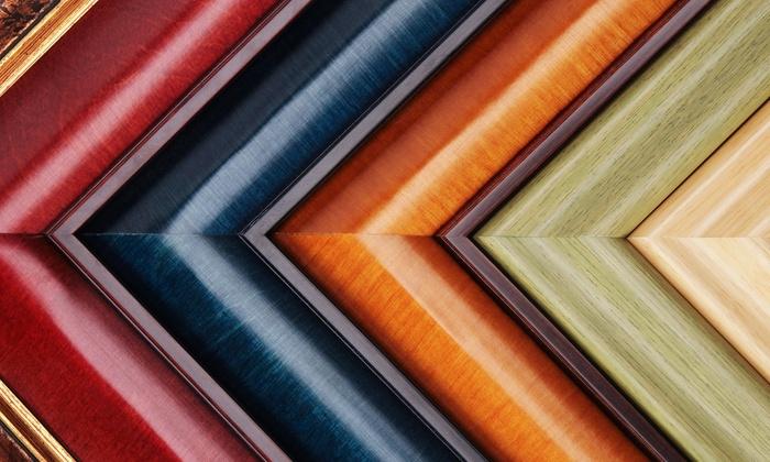 TR Framing - Multiple Locations: $39 for $200 Worth of Custom Framing at TR Framing