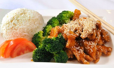 $11 for Two Groupons, Each Good for $10 Worth of Asian Cuisine at Saigon Asian Bistro ($20 Total Value)