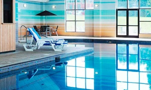 Stratford Manor: Spa Access with Towel Hire, Hot Beverage and Pastry for Two at 4* Stratford Manor