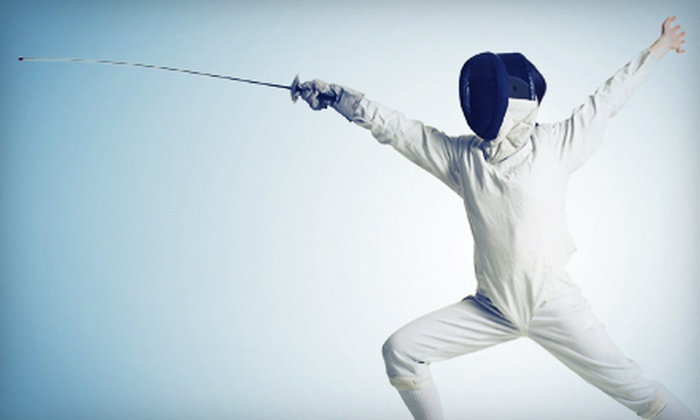 Utah Swords Academy - Sandy: Five-Day Youth Beginner's Fencing Camp at Utah Swords Academy (52% Off). Six Options Available.