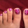 51% Off Glittery Toenails at Nails by Rubie