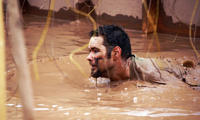 The Courage Challenge Mud Run & Obstacle Course Race - Halpatiokee Park: Open or Elite Race Entry for One to the The Courage Challenge Mud Run & Obstacle Course Race  (55% Off)
