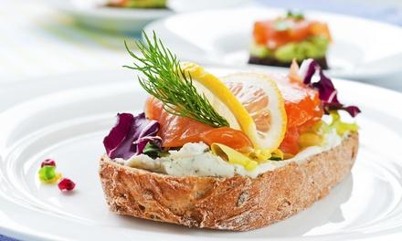 Twee  of driegangen keuzelunch voor 2 tot 4 personen bij Restaurant Samen Eten en Drinken in 's Gravenmoer