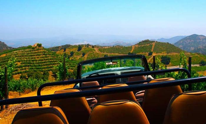 Malibu Wine Safaris - Agoura Hills-Malibu: Wine Safari for Two on Monday–Friday or Saturday–Sunday from Malibu Wine Safaris (Up to$32.50 Off)