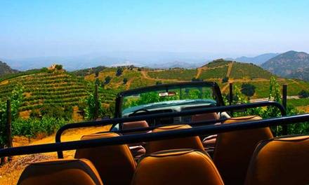 Malibu safari wine tour groupon