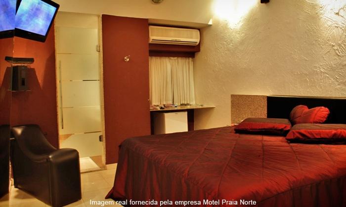Motel Praia Norte - Olinda: Motel Praia Norte – Salgadinho: 4 horas na Suíte Master para casal por R$ 39,90