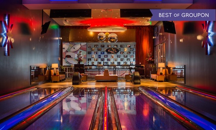 Bowling, Billiards, Bocce Ball, Shuffleboard & Foosball at Kings Bowl (Up 38% Off). Two Options Available.