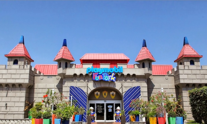 Playmobil FunPark and FunStore - Palm Beach Gardens: $15 for Entry for up to 5 to Playmobil FunPark and a $20 Store Credit to the FunStore ($25 Value)