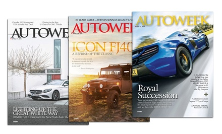 1-Year, 24-Issue Autoweek Magazine Subscription