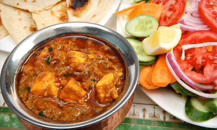 Mount Everest Restaurant - Elmwood: Two-Course Dinner for Two or $10 for $20 Worth of Indian and Nepali Food at Mount Everest Restaurant
