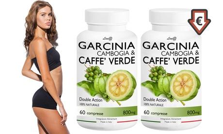 Hasta 720 tabletas de garcinia cambogia y café verde para perder peso