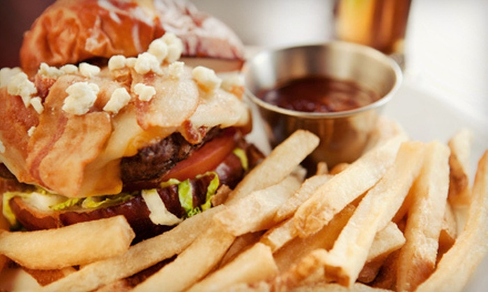 Just Burgers - Steinway,Astoria Hights,Astoria: Burger Meal with Sides and Shakes for Two or Four at Just Burgers (Up to 57% Off)