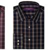 Acquaviva Men's Plaid Button-Down Shirt