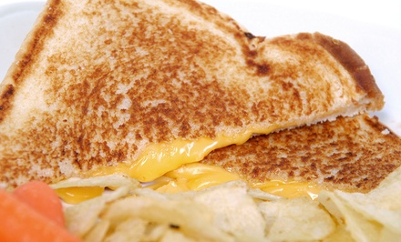 Gourmet Grilled Cheese Sandwiches for Two or Four at GreenGo Grilled Cheese Gastro Truck (Up to 48% Off)