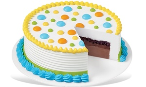 C$8 for C$20 Towards Ice-Cream Cakes at Dairy Queen (60% Off)