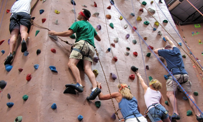 AZ on the Rocks - North Scottsdale: Rock Climbing for Two or Four at AZ on the Rocks (Up to 56% Off)