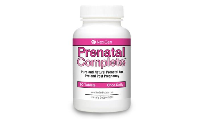 Vita Naturals Prenatal Complete One-A-Day Vitamin (3-Month Supply)