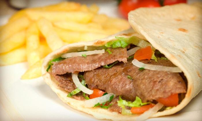 Greek Boy's Gyro - Ashwaubenon: Greek Food at Greek Boy's Gyro (Half Off). Two Options Available.